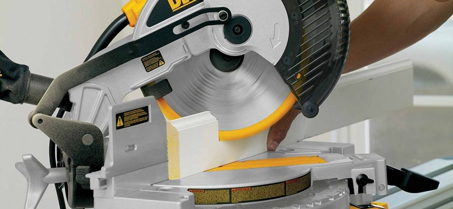 Twin-Bevel Axial Glide Miter Noticed With Upfront Controls