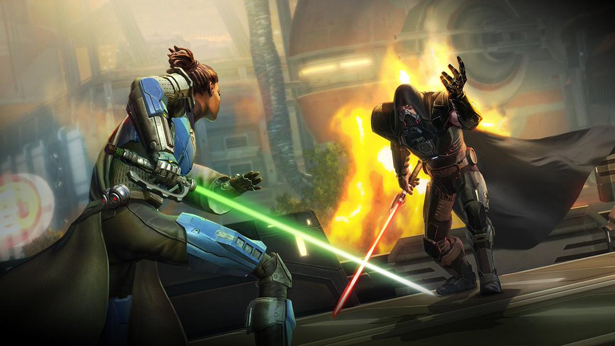 You need to pick for your unique adventure in Swtor